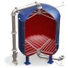 Дренажные системы (ДРУ)  щелевого типа для фильтров ФИПа,  ФОВ,  ФСУ,  колпачки щелевые