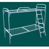 кровати металлические для лагеря,  металлические 2х ярусные кровати,  кровати металлические одноярусные