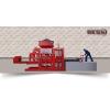 Полуавтоматический вибропресс для производства стеновых блоков