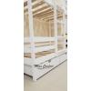 Двухъярусная кровать-домик по низкой цене