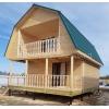 Строительство домов из бруса.  Каркасный дом под ключ