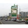 Реклама на брандмауэрах,   перетяжках и щитах  в Краснодаре!